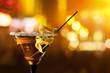 Leinwandbild Motiv martini