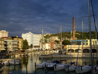 pleasure boats in Italy