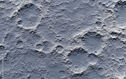 Moon surface - 81297191
