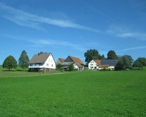 Город Троссинген в южной Германии
