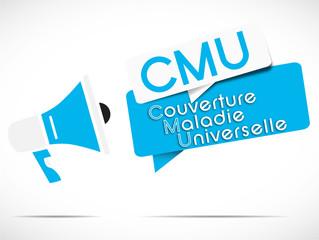 mégaphone : CMU
