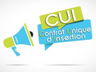 mégaphone : CUI