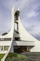 The church in Stykkisholmur, Iceland
