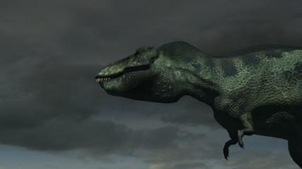 Tyrannosaurus (Cloudy Sky)