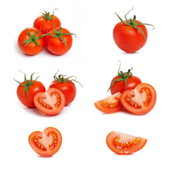 Tomaten - Tomatoes set collage