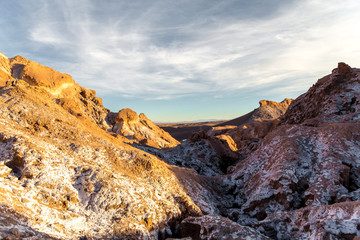 Moon Valley in Atacama Desert, Chile - South America