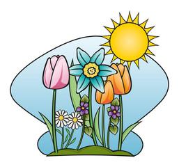 primavera fiorita