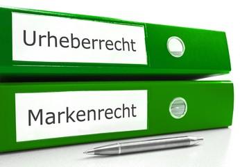 Urheber- u. Markenrecht Konzept