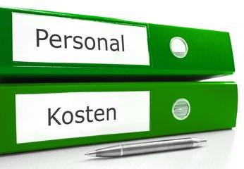 Personal, Kosten - Ordner