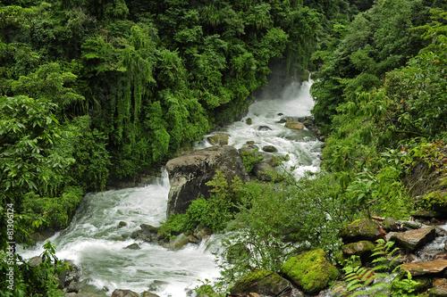 Fotobehang Nepal Río de Nepal
