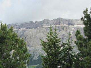 Panoramic mountain view