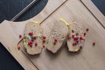 Tranches de foie Gras