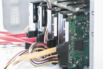 Computer massive hard disk drives