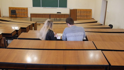 Exam preparation, protection of the diploma, work with student