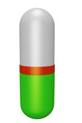 Medicament in capsule