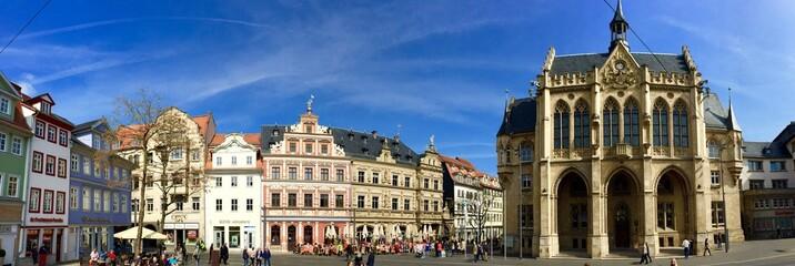 Fischmarkt mit Rathaus in Erfurt