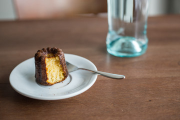 brown sweet canele