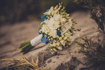 Wedding bouquet, flowers, beautiful bouquet.