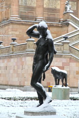 National gallery museum Altre National galerie Berlin Germany