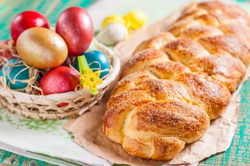 Cozonac - Bulgarian Easter bread