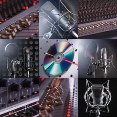 Musikalische Collage mit Tontechnik