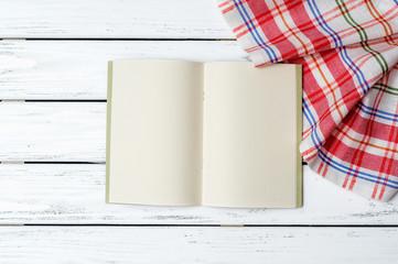 Recipe book background