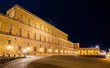 Leinwanddruck Bild - View of the Palazzo Pitti in Florence - Italy