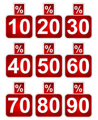 -%10, 20, 30, 40, 50, 60, 70, 80, 90