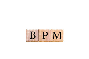 Acronym BPM - Business process management