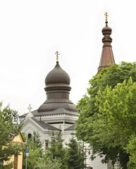 Church of the Nativity of the Blessed Virgin in Wlodawa. Poland