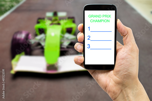 betting on the car circuit