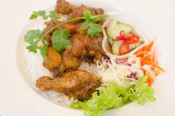 Massaman Curry Chicken and Rice
