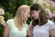 Portrait of a lesbian couple