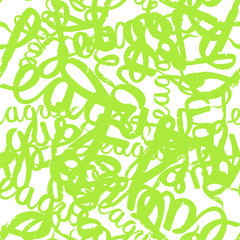 Seamless pattern graffiti lettering
