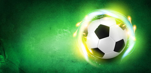 Football green theme background