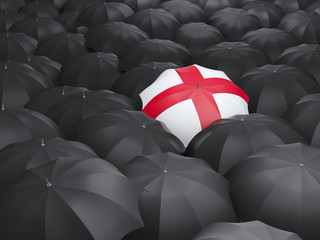 Umbrella with flag of england