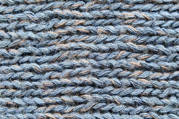 Gray fabrics in a macro.