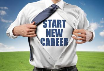 Start new career!