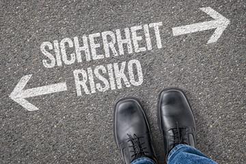 Entscheidung an der Kreuzung - Sicherheit oder Risiko