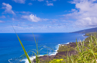 littoral de Sud Sauvage, île de la Réunion