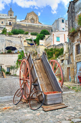 Alleyway. Sassi of Matera. Basilicata. Italy.