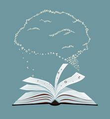 Book's brain