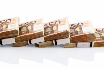 Viele Euro-Geldscheine