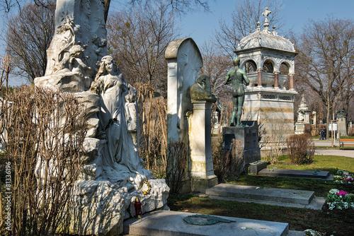 Fototapeta Ehrengräber auf dem Zentralfriedhof | Wien