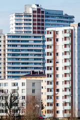 Österreich, Linz, Wohnhäuser