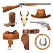 Cowboy Elements Set - 81336768