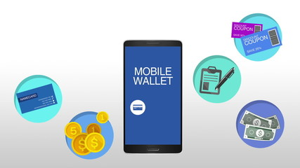 Function explanation for mobile wallet