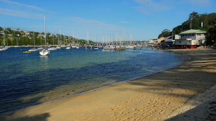 Beach near Spit Bridge, Sydney