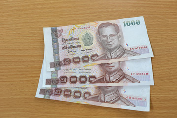 Banknotes of Thailand.