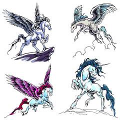 Pegasus Flash Set